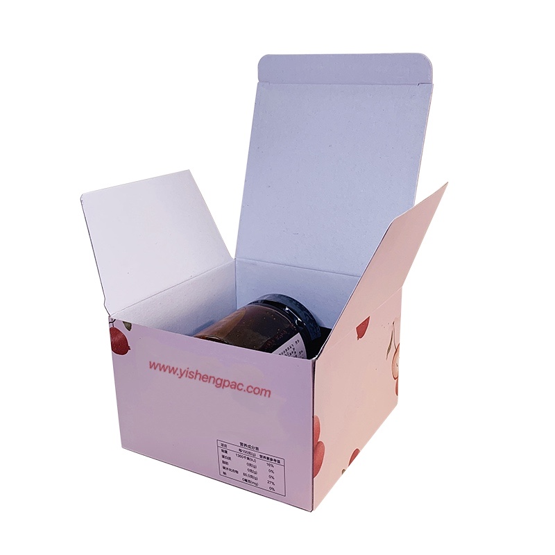 Packaging Box for Jam Paper Box for Delivery