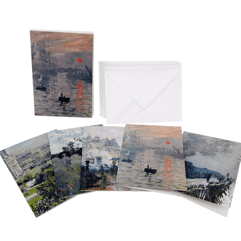 Note card Paper Card & Envelope Claude Monet